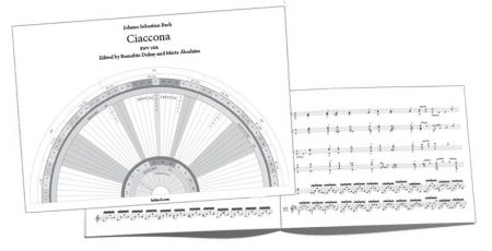 Practising Score Bach Chaconne (J.S.Bach: Ciaccona)