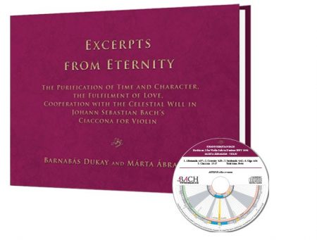 Excerpts from Eternity - J. S. Bach Ciaccona (Könyv + CD) -