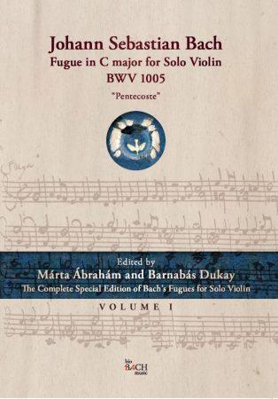 "Fugue in C major for Solo Violin BWV 1005 ""Pentecoste"""