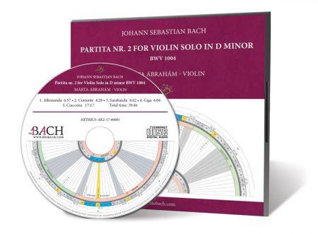 J. S. Bach d-minor Partita no.2 BWV 1004