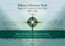"""J. S. Bach: Hegedű fuga a g-moll szólószonátából BWV 1001  """"Karácsony"""""""